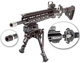Carbine for disabled persons